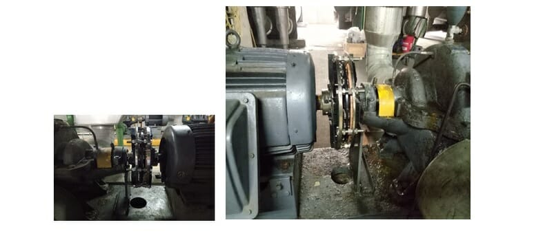 Cooling Pump in Plastic Chemical Plant